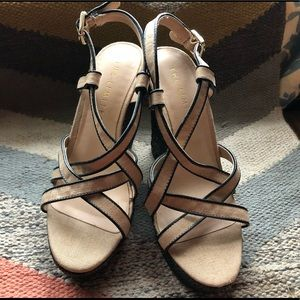 The Limited Strappy Wedges